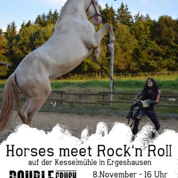 Horses meet Rock'n Roll